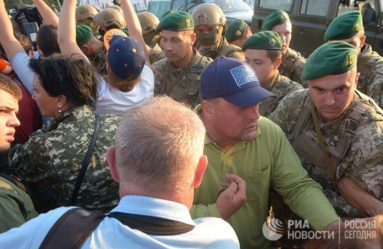 Михаил Саакашвили пересек польско-украинскую границу