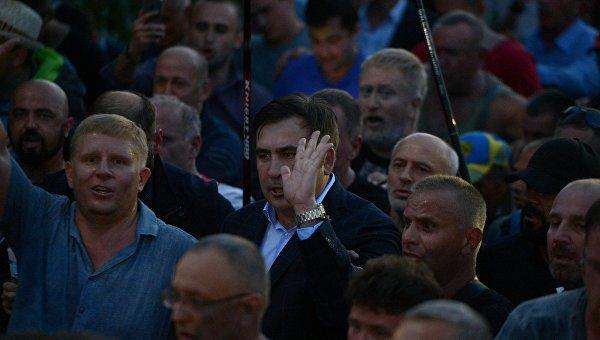 Михаил Саакашвили пересек польско-украинскую границу. Архивное