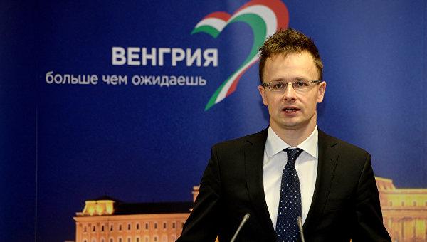 Министр иностранных дел и внешней торговли Венгрии Петер Сийярто. Архивное фото