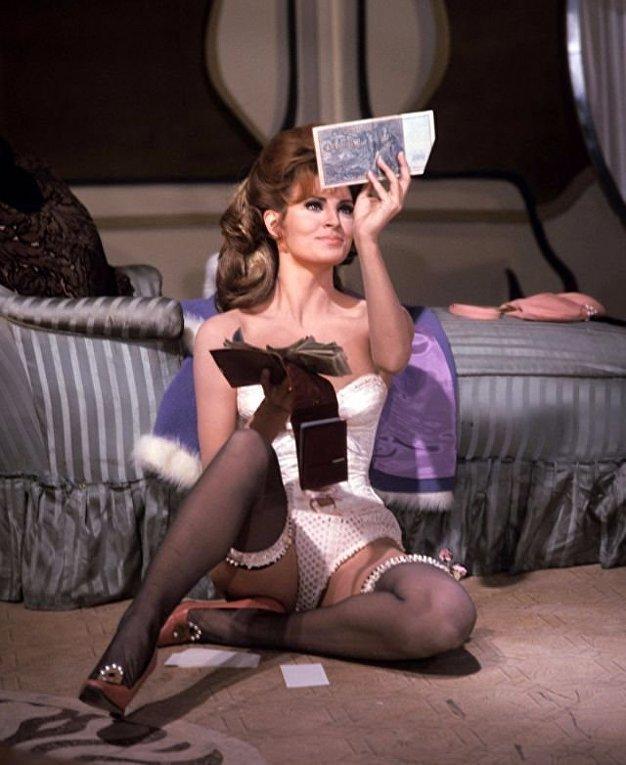 Секс-символ 60-х актриса Ракель Уэлч, живой памятник женской красоте