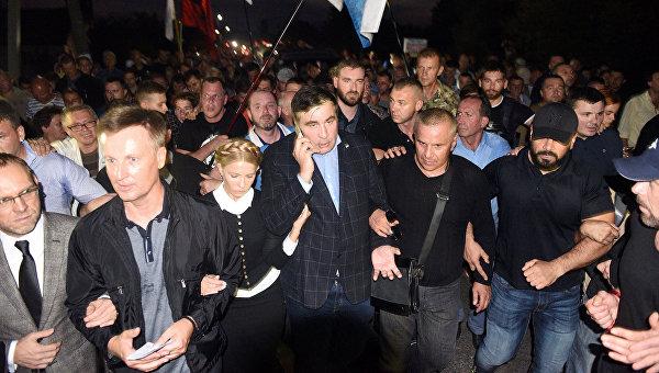 Михаил Саакашвили 10 сентября 2017