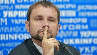 Глава Украинского института национальной памяти Владимир Вятрович. Архивное фото