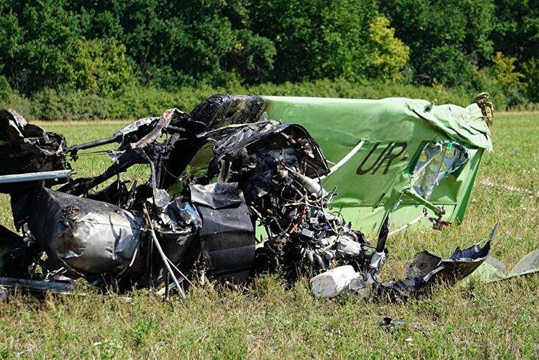 Падение самолета под Новой Водолагой