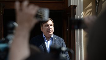Пресс-конференция Саакашвили во Львове