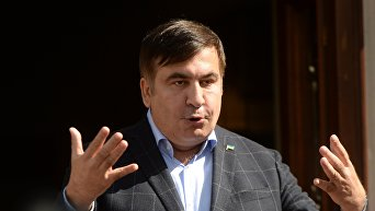 Михаил Саакашвили во Львове. Архивное фото