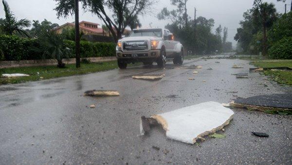 Ураган Ирма. Архивное фото