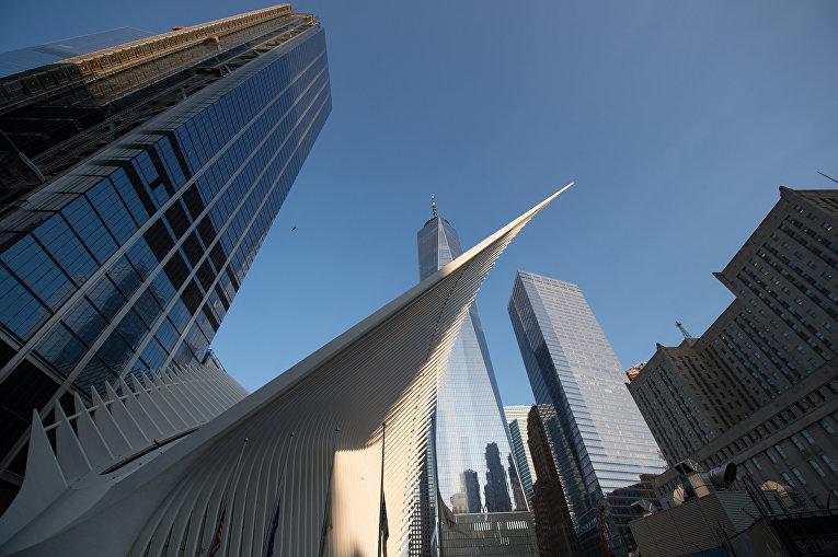 Всемирный торговый центр в Нью-Йорке