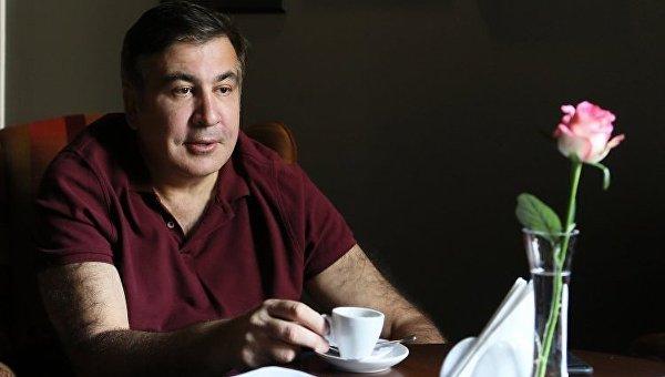 Экс-президент Украины, экс-глава Одесской облгосадминистрации Михеил Саакашвили в гостинице Леополис во Львове, 11 сентября 2017 г. 10 сентября Саакашвили удалось пересечь польско-украинскую границу в пункте пропуска Шегини.
