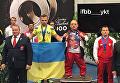 Российский спортсмен Владимир Балынец в футболке с Путиным