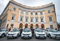 Вручение новых автомобилей сотрудникам областных подразделений полиции Одесской области