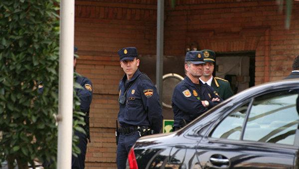 Испанская полиция, архивное фото