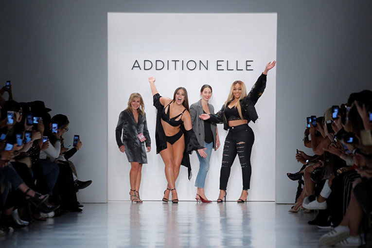 Модели plus-size на New York Fashion Week