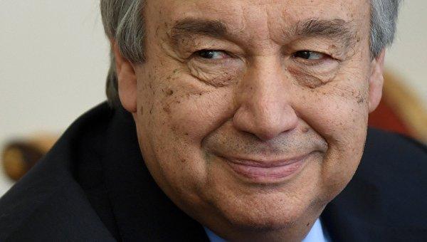 Генеральный секретарь  ООН объявил  онедопустимости конфликта РФ  иСША