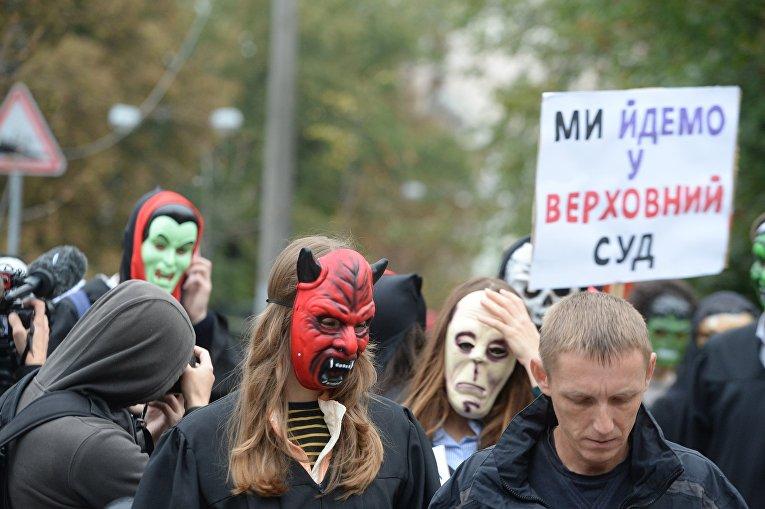Марш нечести в Киеве