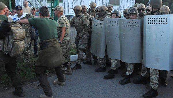 Прорыв Михаила Саакашвили через границу