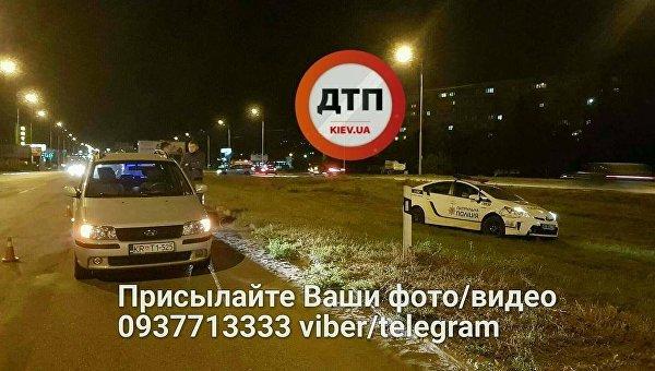 ДТП в Киеве с участием патрульных, 14 сентября 2017