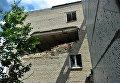 Ситуация в зоне АТО. На фото - разрушенный дом в Красногоровке