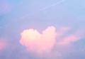 Облако в видео сердечка в Китае