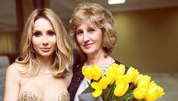 Светлана Лобода с матерью Натальей