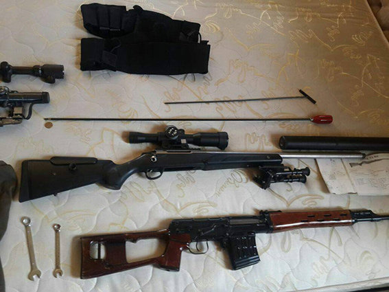 ВХерсонской области задержаны иностранцы с резервом оружия