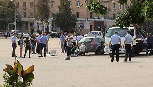 На месте инцидента в Белгороде