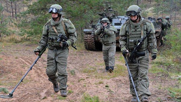 Военные учения Запад-2017 в Ленинградской области