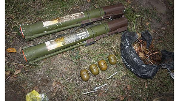 Схрон с оружием возле Кременчуга