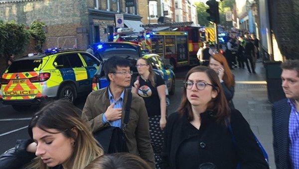 В итоге взрыва вметро Лондона пострадали 20 человек