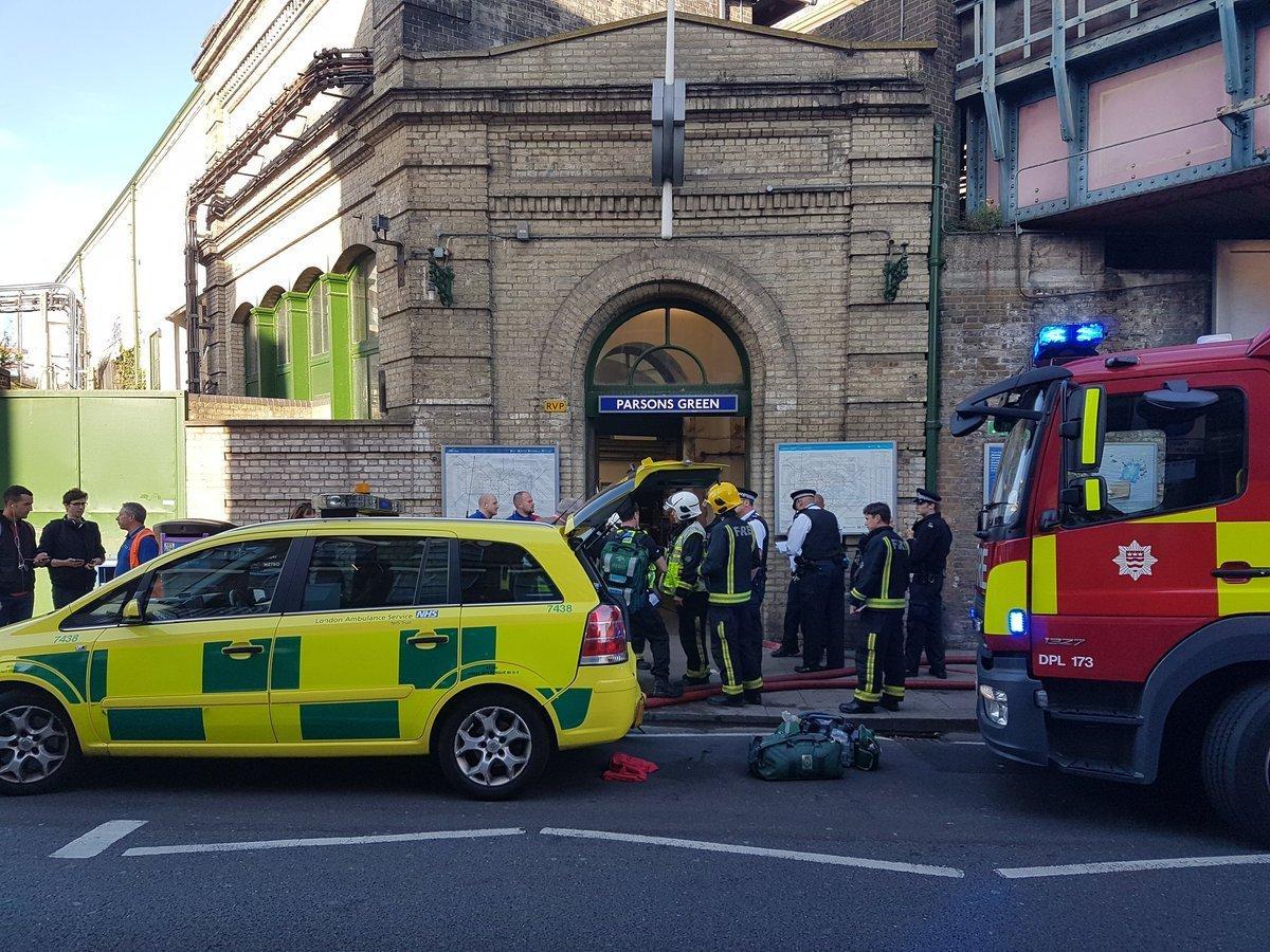 Милиция установила подозреваемого висполнении теракта встолице Англии