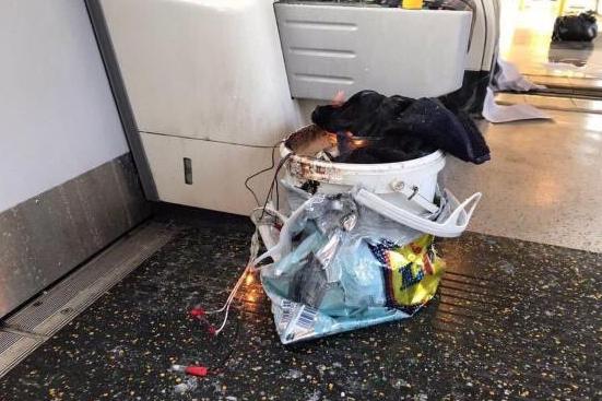 Взрыв в метро Лондона