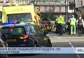 Взрыв возле станции метро в Лондоне. Прямая трансляция