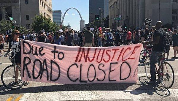 Протесты в Сент-Луисе