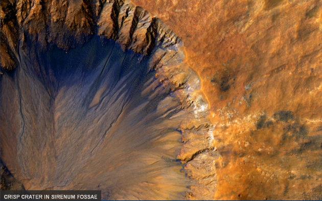 Красивая красная планета: появились уникальные фото сМарса