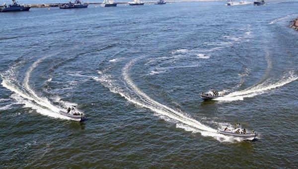 Катера морской пехоты Балтийского флот