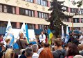 Саакашвили в Ивано-Франковске