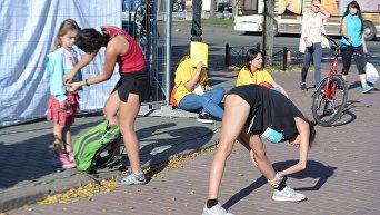 Женский забег в Киеве