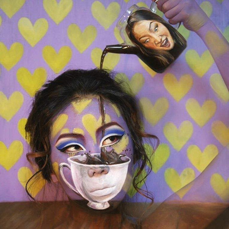 Художница Дайн Юн делает умопомрачительные макияжи