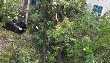 Ураган в Румынии