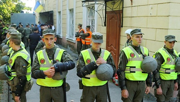 Суд Черноморска под Одессой оцеплен Нацгвардией