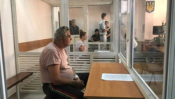 Суд назначил залог боссу лагеря— Пожар вОдессе