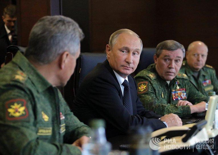 Рабочая поездка президента РФ В. Путина в Ленинградскую область