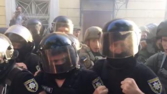 Столкновения у суда, оправдавшего обвиняемых по делу 2 мая в Одессе