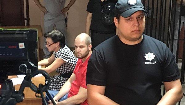 Один из фигурантов дела 2 мая Сергей Долженков в зале суда