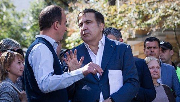 Михаил Саакашвили: уменя нет желания организовать новейшую революцию вгосударстве Украина