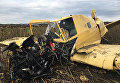 В Хмельницкой области упал легкомоторный самолет