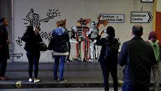 Новые граффити Бэнкси в Лондоне