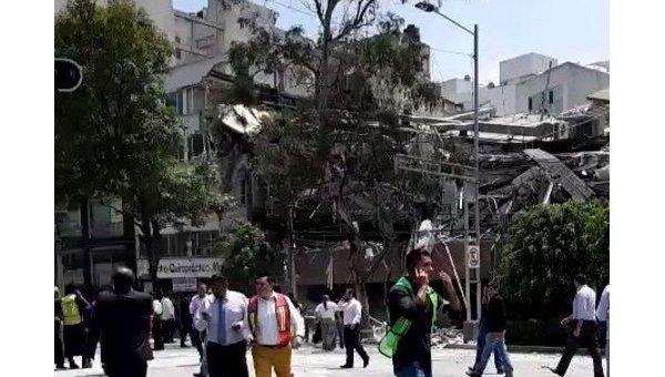 Мексику всколыхнуло новое мощное землетрясение: погибли неменее 40 человек