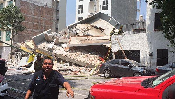 Число погибших выросло до 293 человек— Землетрясение вМексике