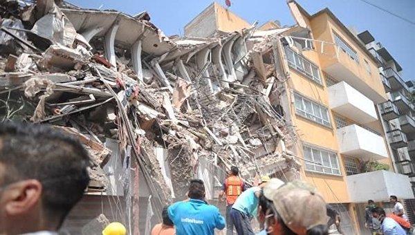 Около 120 человек погибли в итоге землетрясения вМексике