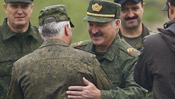 Лукашенко на учениях Запад-2017